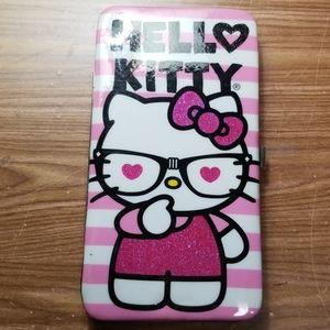 Hello Kitty Hard Side Wallet